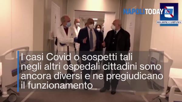 """Ospedale da campo anti-Covid, la denuncia: """"E' vuoto e i medici costano 60 euro all'ora"""""""