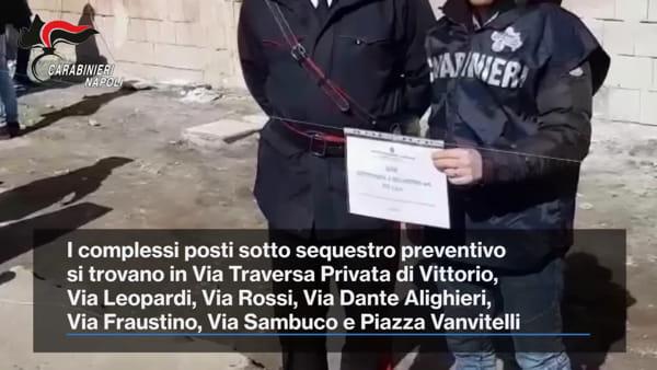 Volla, i Carabinieri sequestrano 250 alloggi abusivi