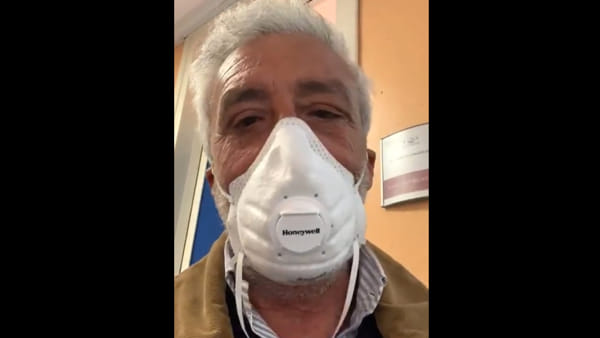 "Patrizio Rispo, l'invito a donare sangue al Pausillipon: ""Ho un messaggio importante per voi"" 