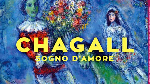 Sogno d'Amore, a Napoli la mostra di Marc Chagall
