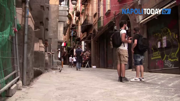 Sos Centro storico: così il Covid-19 ha stravolto il cuore economico di Napoli