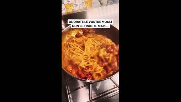 """Tony Colombo: """"Le mogli che cucinano per voi a mezzanotte vanno onorate, non tradite"""""""
