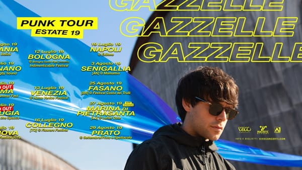 Gazzelle in concerto all'Ex Base Nato