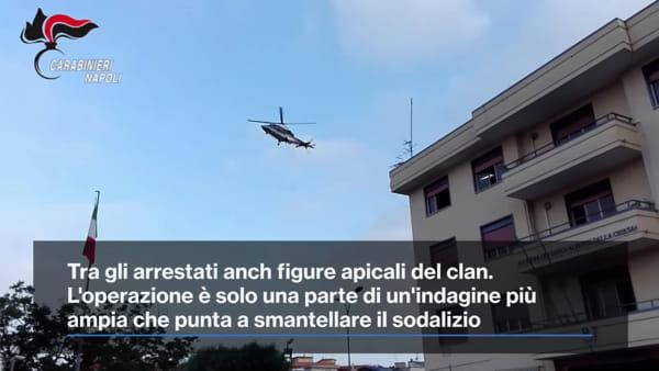 Colpo al clan Polverino-Nuvoletta: 7 arresti. Il blitz dei carabinieri | VIDEO