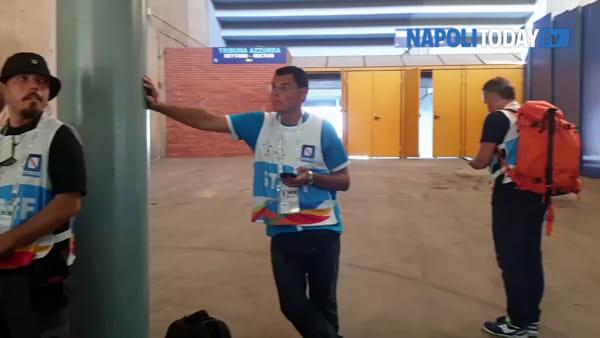 Universiadi Napoli, San Paolo pronto per l'inaugurazione