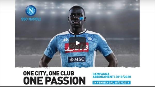 One City, One Club, One Passion: la Campagna Abbonamenti del Napoli 2019/2020