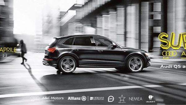 Teatro Posillipo, A&C Motors esporrà l'Audi Q5 Advanced Plus