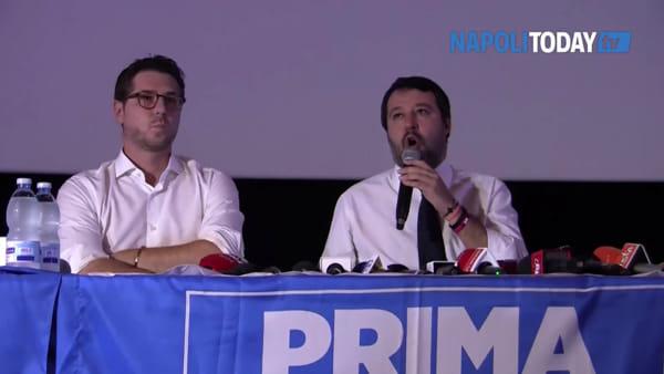 """Rifiuti, Salvini: """"In Campania serve un impianto in ogni provincia"""""""