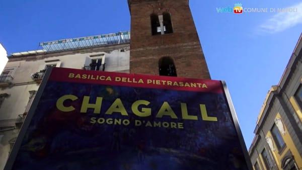 Chagall a Napoli: una mostra con 150 opere alla Pietrasanta