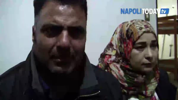 Rifugiati siriani con otto figli in una casa senza acqua né luce