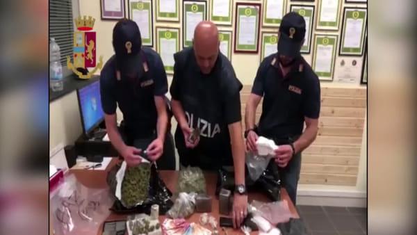 """Giovane scoperto con 3 kg di droga: stava rifornendo la """"piazza"""""""