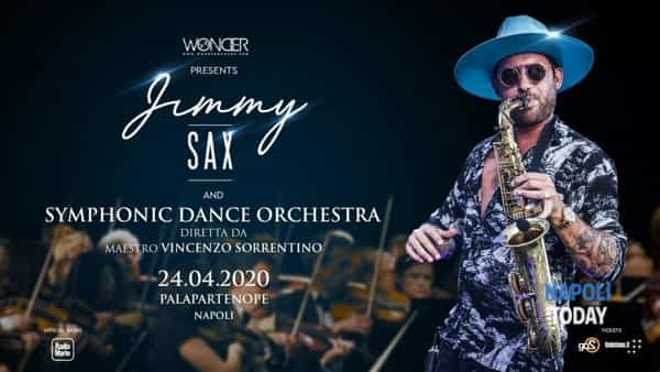 Jimmy Sax live al Palapartenope