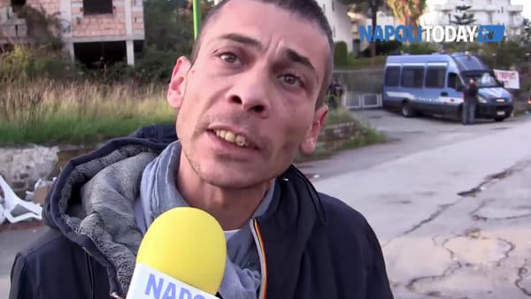 """Abbattimenti Terzigno, la storia di Alberto: """"Comprato casa dal Tribunale, ora la demoliscono"""""""