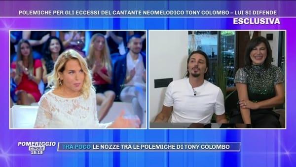 Tony e Tina Colombo accusati di 'eccessi': la difesa a Pomeriggio Cinque | VIDEO