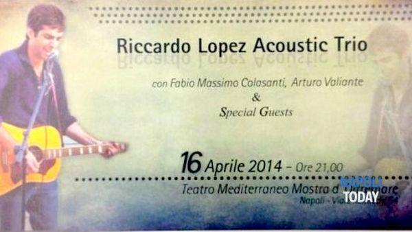 Riccardo Lopez in concerto