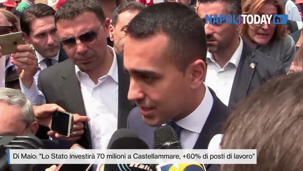 """Di Maio aggira il silenzio elettorale: """"A Castellammare 110 milioni di investimenti"""""""