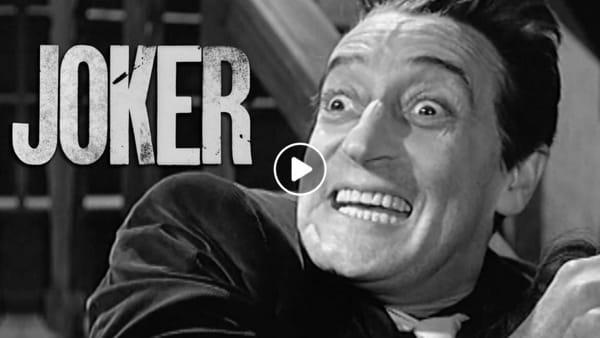 Joker, se il protagonista del film fosse Totò | VIDEO