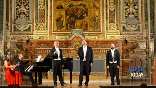 I Tre Tenori tra Arie d'Opera, Pucinella e canzoni napoletane