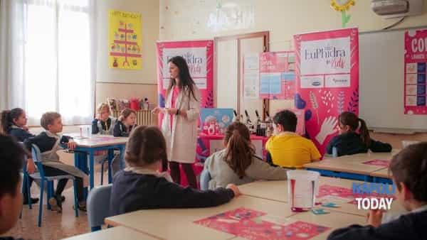 """Il progetto educativo """"Euphidra for Kids"""" nelle scuole primarie della Campania"""