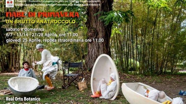 """Fiabe di Primavera: """"Un brutto anatroccolo"""" all'Orto Botanico di Napoli"""