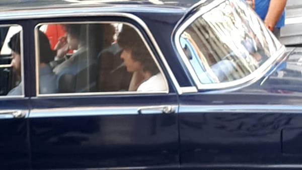 Maradona sul Lungomare e il traffico si blocca