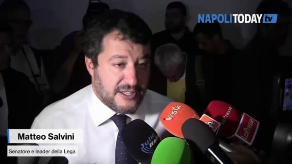"""Salvini: """"La Campania ha voglia di Lega"""""""