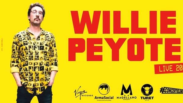 Tappa Napoli per il tour di Willie Peyote