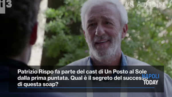 """Patrizio Rispo: """"La mia vita parallela in Un Posto al Sole"""""""