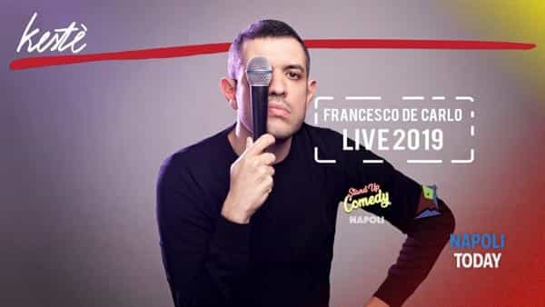 Stand Up Comedy: Francesco De Carlo live