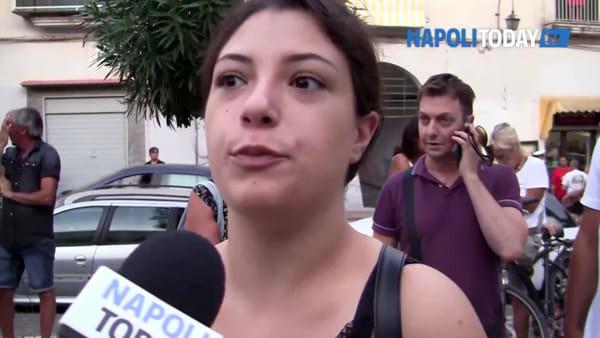 """Minacce di morte al sindaco, bacolesi in piazza: """"Io non mi fermo"""""""