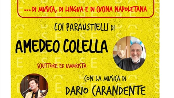 Amedeo Colella in scena all'Area Teatro dell'ex Base Nato