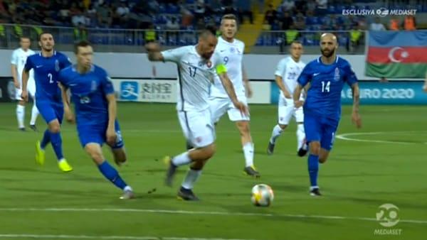 Hamsik protagonista in nazionale: eurogol per l'ex capitano del Napoli | VIDEO