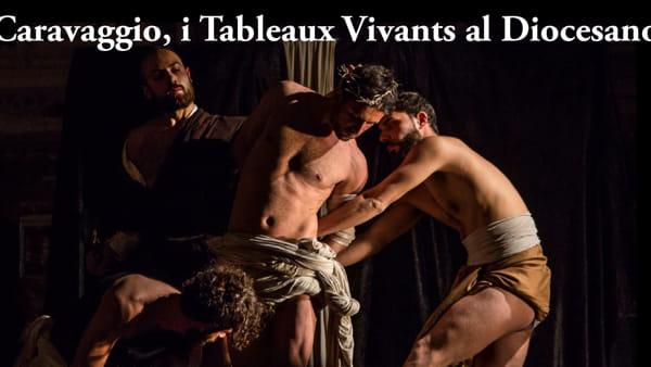 """A Donnaregina Tornano """"I Tableaux Vivants"""": in scena 23 tele di Caravaggio"""