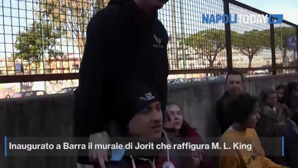 """Jorit: """"Non basta un murale per salvare Napoli Est"""""""