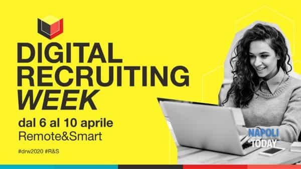 Digital Recruiting Week: la fiera del lavoro on line