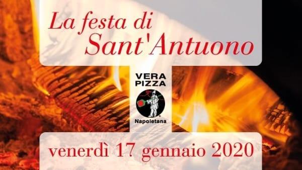 Giornata Cittadina del Pizzaiuolo Napoletano: pizza speciale dedicata a Sant'Antuono