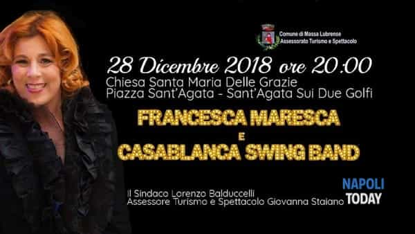francesca maresca & casablanca swing band - stelle di natale a sant'agata sui due golfi-2