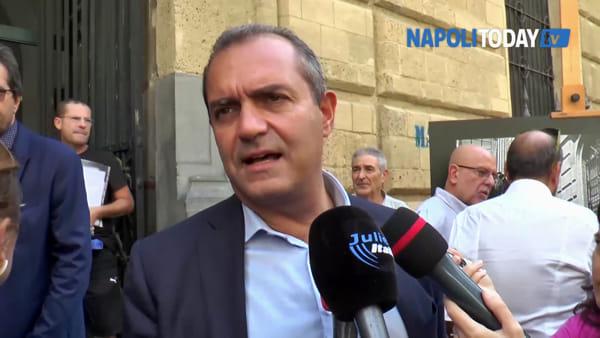 """Inaugurato largo Nanni Loy, il figlio: """"Mio padre amava Napoli"""""""