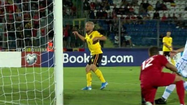 Mertens ossigenato in gol anche in nazionale | VIDEO
