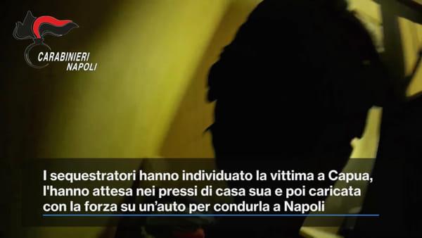 Rapito dal clan per un debito. Salvato dal blitz dei carabinieri | VIDEO