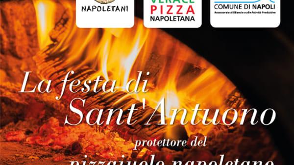 """A Napoli la """"Giornata Cittadina del Pizzaiuolo Napoletano"""": pizza speciale dedicata a Sant'Antuono"""