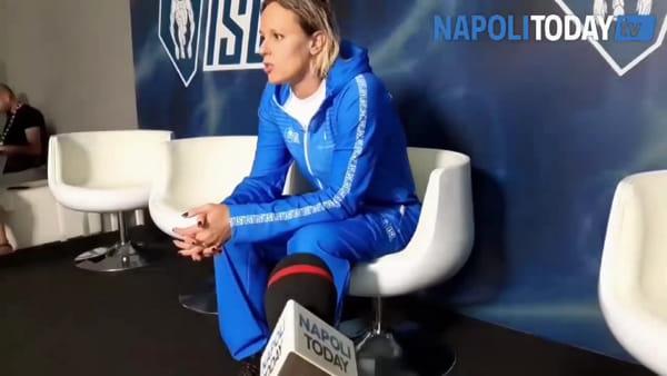 """Federica Pellegrini esalta Napoli: """"Quï abbiamo visto il vero tifo"""""""