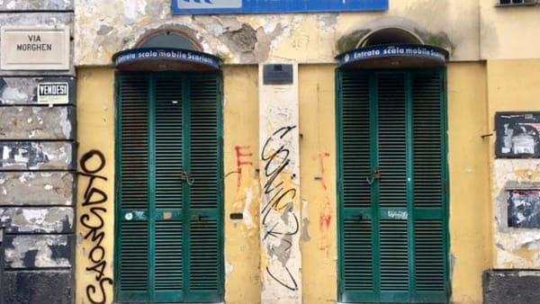 Vomero, via Scarlatti, scale immobili-3