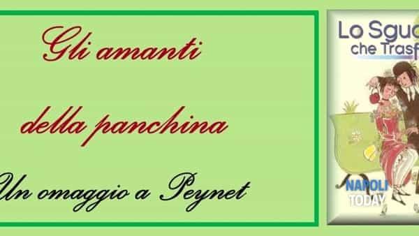 Gli amanti della panchina: un omaggio a Peynet