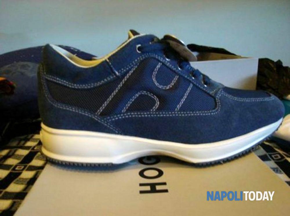 Hogan contraffatte. Una fabbrica di scarpe ... f41af05403f