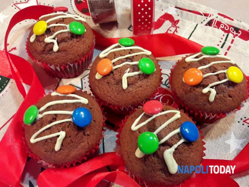 Idee Regalo Dolci Natale.Muffin Delle Feste Dolce Idea Regalo Per Natale