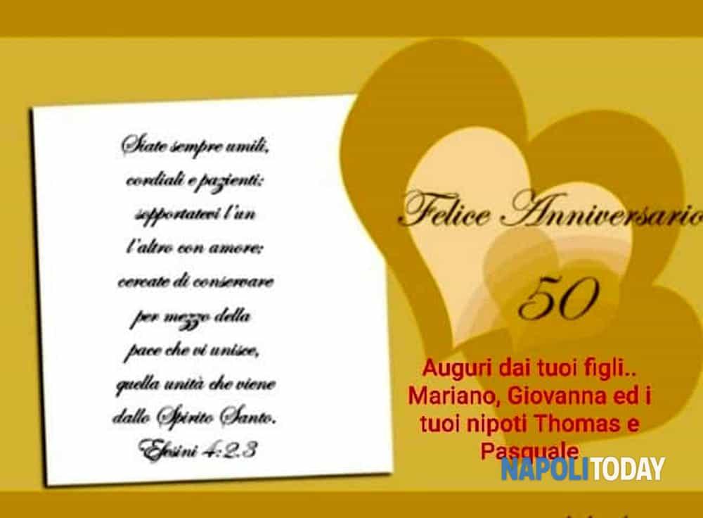 Auguri Per Anniversario Di Matrimonio 50 Anni.Nozze D Oro Nei Giorni Del Coronavirus