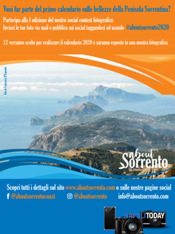 Calendario Fotografico 2020.Social Contest Fotografico About Sorrento 2020