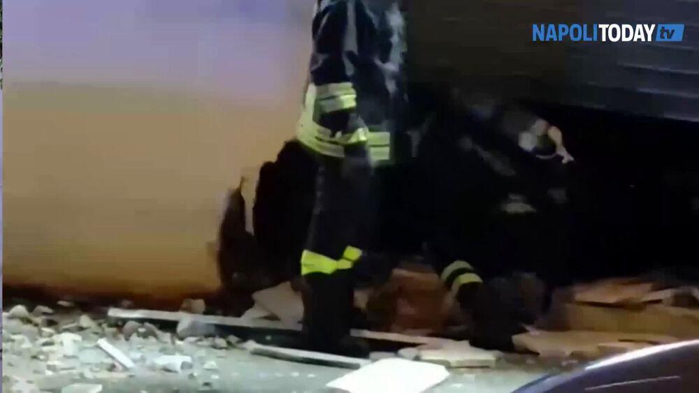 """Bomba ai Colli Aminei, la titolare del negozio: """"Vivo per scoprire cosa è accaduto"""""""