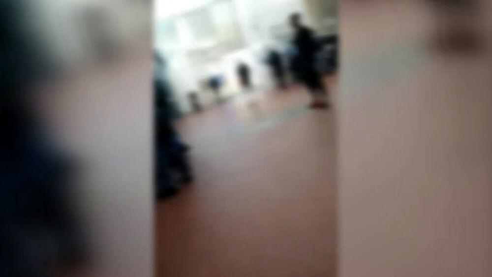 Ospedale Pellegrini, calci e sputi contro una guardia giurata
